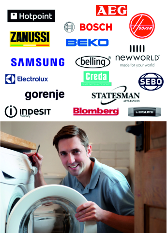 appliance repairs by qualified engineers to washing machines washer dryers electric cookers dishwashers